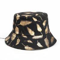 여름 양동이 모자 어부 모자 여성 남자 선물 와이드 브림 꽃 유니버설 야외 여행 태양 해변 모자 GGA4642