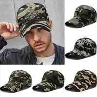 Camouflage Tactical Hats Camo Women Men Baseball Caps Outdoor Hunting Fishing Summer Sun