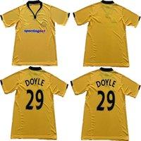 2010 Wolves Retro Home Jerseys 2009 10 11 Amarelo Doyle Milijas Berra Henry Ebanks-Blake Kightly Vintage Camisas de futebol clássico Tailândia