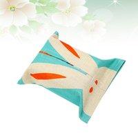 1pc coton tissu de tissu de tissu de papier de tissu de papier support de support de sac de sac de robinet de rangement pour salle de lavage pour salon chambre à coucher (boîtes à pâtisses sieste Napki