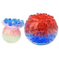 10000 teile / beutel Home Decoration Gießausrüstungen Kristall Baby Wasserabsorbierende Bomben Wasserabsorbierungen Perlen Blase Große Perle Flowe