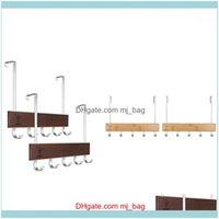 Hooks Rails Storage Housekeeping Organization Home & Garden2 Packs Hook Door Over The Towel Rack For Hanging,Door Coat Hanger Towel1 Drop De