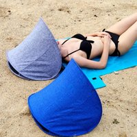 Tents And Shelters Outdoor Mini Tent Beach Umbrellas With Air Pillow Head Multi-functional Inflatable For Accessories