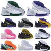 Mamba Fury كرة السلة أحذية بيضاء / حقل الأرجواني الأسود الأحمر بروس لي للبيع Deadstock خصم حذاء رياضة