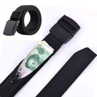 Belts Travel Cash Anti Theft Belt Waist Bag Women Portable Hidden Money Strap Wallet Pack Men Secret Hiding 119cm