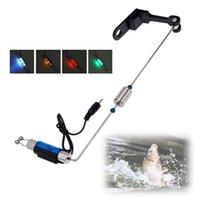 Fishing Accessories Tackle Boxes Alarm Bite LED Illuminated Indicator Hanger Swinger Tools Useful