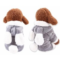 Dog Apparel Elk Pet Dogs Christmas Wing Hooded Clothes Cat Sweater Coat Winter Jacket For Products