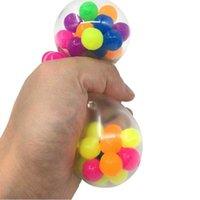 DECOMPRESSIONE giocattolo anti stress faccia reliviato colorato palla autismo umore spremere sollievo sano divertente gadget sfiato bambini regalo di natale