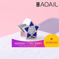 Proud love popular DIY bracelet star drop oil beads S925 Sterling Silver Bracelet accessories 00525