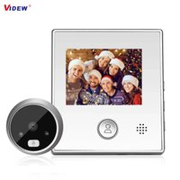 VIDEW Doorbell Camera IR Night Vision Intercom Door Bell Viewer Smart Video Peephole Digital Door Eye Security
