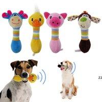 Jouets de chien mignon chien mâle mâle animaux jouets de compagnie jouets en peluche chiot kinking écureuil pour chiens chat mâcher jouet jouet chien de chien HWA7170