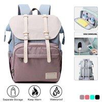 Diaper Bags Mommy Waterproof Bottle Feeding Insulation Backpack Large Travel Maternity Baby For Mom Storage Bag