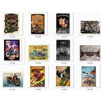 20 * 30 cm Harley Motor Davidson Metal Tar Signs Vintage Poster Old Wall Metal Plaque Club Wall Home Art Metallo Pittura Parete Decor Art Picture