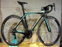 Bianchi Carbon Road Complete Bike Team Lotto Jumbo avec 105 R7010 Ultegra R8010 GroupSet Dura Ace C50 50mm Theelset en carbone