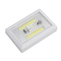 2021 Manyetik Mini LED Akülü Işık Anahtarı Duvar Gece Işıkları Pil Kumandalı Mutfak Dolabı Garaj Dolap Kampı Acil Lamba
