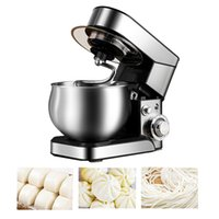 Household Stainless Steel Food Mixer Knead Dough Cake Bread Chef Machine Kitchen Electric Stand Blender Eggs Beater 1200W