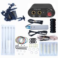 High Quality Complete Tattoo Kit for Beginners Power Supply & Needles Guns Set Small Configuration Machine Beauty Sets