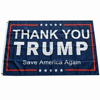Trump Bayrağı 2024 Seçim Bayrağı Banner Donald Trump Bayrak Amerika Birleşik Yine 150 * 90 cm Teşekkürler Trump Bayrakları DHL Nakliye
