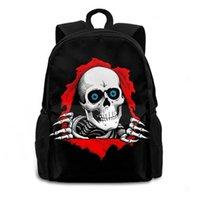Backpack Arrival Skull Men's Boys Backpacks Large Durable Children School Bookbag Casual Daypacks Travelling 15.6in Laptop Bags