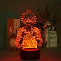 Kid 3D Table Lamp Bedside LED Night Lights Danganronpa Anime Nightlight Rantaro Amami Room Decor Teenager Birthday Gift Smart Phone Control