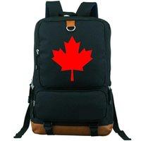 حقيبة الظهر كندا daypack البلد شارة المدرسية حقيبة الترفيه حقيبة يد حقيبة كمبيوتر محمول حقيبة كمبيوتر محمول