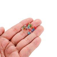 70-300pcs 3/4/6 / 8mm translúcido tcheco corredor de cristal checo facetado cordão espaçador colorido para bracelete diy jóias fazendo suprimentos 806 t2