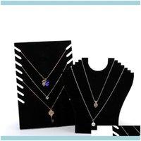 مجوهرات التعبئة والتغليف jewelryjewelry قلادة سلسلة عرض موقف الكرتون الأسود فيت أنيق مجوهرات مجوهرات أنيقة للتسوق رف الرف