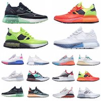 [Con scatola] 2021 Originali ZX 2K Run Mesh Ultra Scarpe Estate Moda Scarpe da corsa Donne Mens Tripla Bianco Black Designer Sneakers 36-45