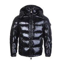 Moda Erkek Ceketler Parka Kadınlar Klasik Rahat Aşağı Mont Açık Sıcak Tüy Kış Ceket Unisex Ceket Dış Giyim Çiftler Giyim Asya Boyutu
