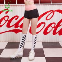 Yoga Outfit Sports Shorts Women Summer 2021 Candy Color Anti Emptied Skinny Casual Lady Elastic Waist Beach Training Short Pants