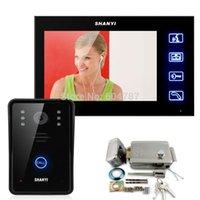 Inch Monitor Touch Video Deurtelefoon Intercom Deurbel Home Security IR Camera Elektronische Lock Keyfobs Door Phones