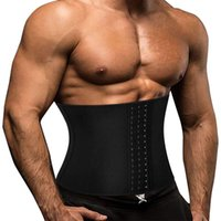 Manginador abdominal para hombre Modelado Correa Transporte de látex Cuerpo Corsé Corsé Comitol Fitness Cintura Cintura Reducción Cinturones