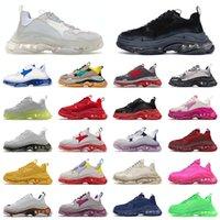 balenciaga balenciaca triple s 2021 Üçlü S Koşu Ayakkabıları Tasarımcı Erkek Kadın Platformu Vintage Eski Baba Sneakers 17fw Paris Moda Açık Eğitmenler Sneaker 36-45
