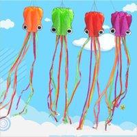 420cm Neue Octopus Shape Single Line Drachen mit fliegenden Tools Stunt Software Power Fun Outdoort Game Flying Drachen leicht zu fliegen