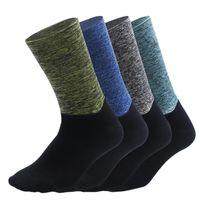 Мужские открытые велосипедные спортивные носки нескользящей шерстяной ткани мягкой влаги поглощение баскетбола скалолазание