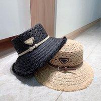 Cappelli da corne larga 2021 cappello di paglia. Alla moda e traspirante. Fatto a mano. Un must per la spiaggia PA-0850