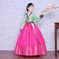Hanbook Cheorean National Traje Girls Kids Traditional Dress Cosplay Performance Roupas TA439 Étnica