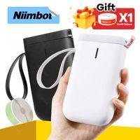 Printers Label Printer Niimbot D11 Maker Thermal Portable Mini Pocket Sticker Paper Roll For Telephone