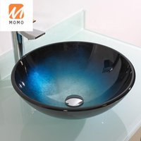 Комплект аксессуаров для ванн Eco-Friendly UPC Дизайн закаленные ванные комнаты для стиральной стеклянной раковины