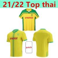 22 22 Fc Nantes 8th Star Kit Soccer Джерси 20-летие Maillot de oper Simon Louza A Toure BLAS COCO COULIBALY Футбольные рубашки
