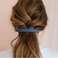 Hair Accessories Haimekang Korea Ins Clip Retro Slender Spring Word Bangs Hairpin Women Fashion Girl Barrette