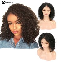 Beauty Brazilian Lace Front 13x4 Human Hair Natural Color Kinky Curly Pre Plucked For Women1
