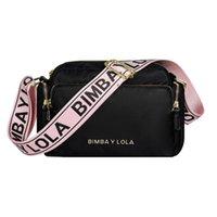 2021 Vender Bimba y Lola Original Messenger Bagshoulder Bolsa de Luxo Nylon Mochila Bolsa Bolsos Mujer para mulheres