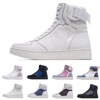 [Con caja] French top luxury brand · Louis Vuitton Rivoli High Sneaker casual high-top all-match sneakers