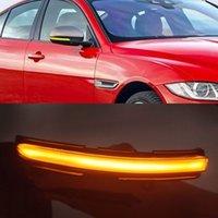 1Set LED Dynamic Turn Signal Light Side Mirror Indicator Lamp Blinker For Jaguar XE XF XJ F-TYPE XK XKR I-PACE X250 X260
