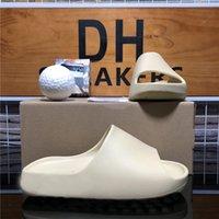 Top Qualitätspaare Mode Männer Frauen Gummi Hausschuhe Designer Sandalen Schuhe Rutschen Sommermode Weite flache Flip Flops mit Kastengröße EUR36-EUR45