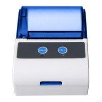 프린터 휴대용 미니 58mm 블루투스 열 영수증 프린터 휴대 전화