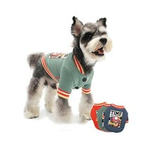 Dog Apparel Cartoon Costume Winter Warm Clothes For Small Dogs Thick Cotton Puppy Coat Monkey Pet Baseball Uniform Chihuahua Pitbull