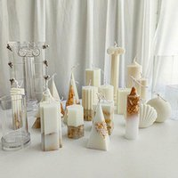 Clear Plastic DIY Wax Melt Candle Moulds Gypsum Making Mold Craft Cross Square Round Ball cylinder Tools