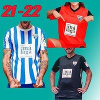 21 22 Málaga Futebol Jerseys Málaga Home Away Terceiro 2021 2022 K. Bare Casas Juanpi Adrian CF Jairo Juankar Juande Luis Muñoz Rivas Futebol